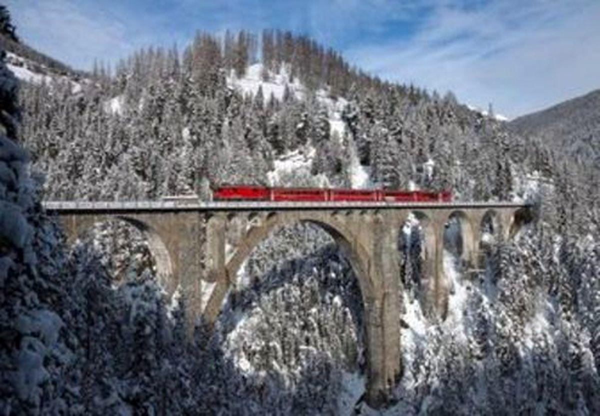 قل تاریخی پل «وِرِسک» ایران را در سوئیس ببینید +عکس