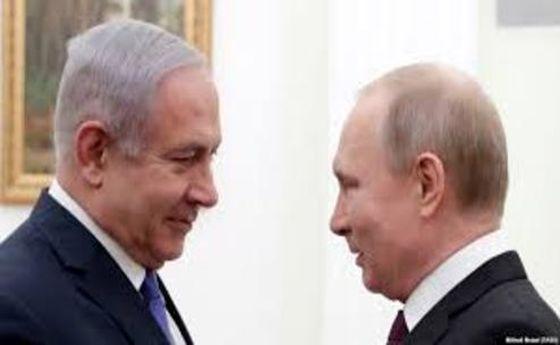دیدار پوتین و نتانیاهو در «سوچی» روسیه
