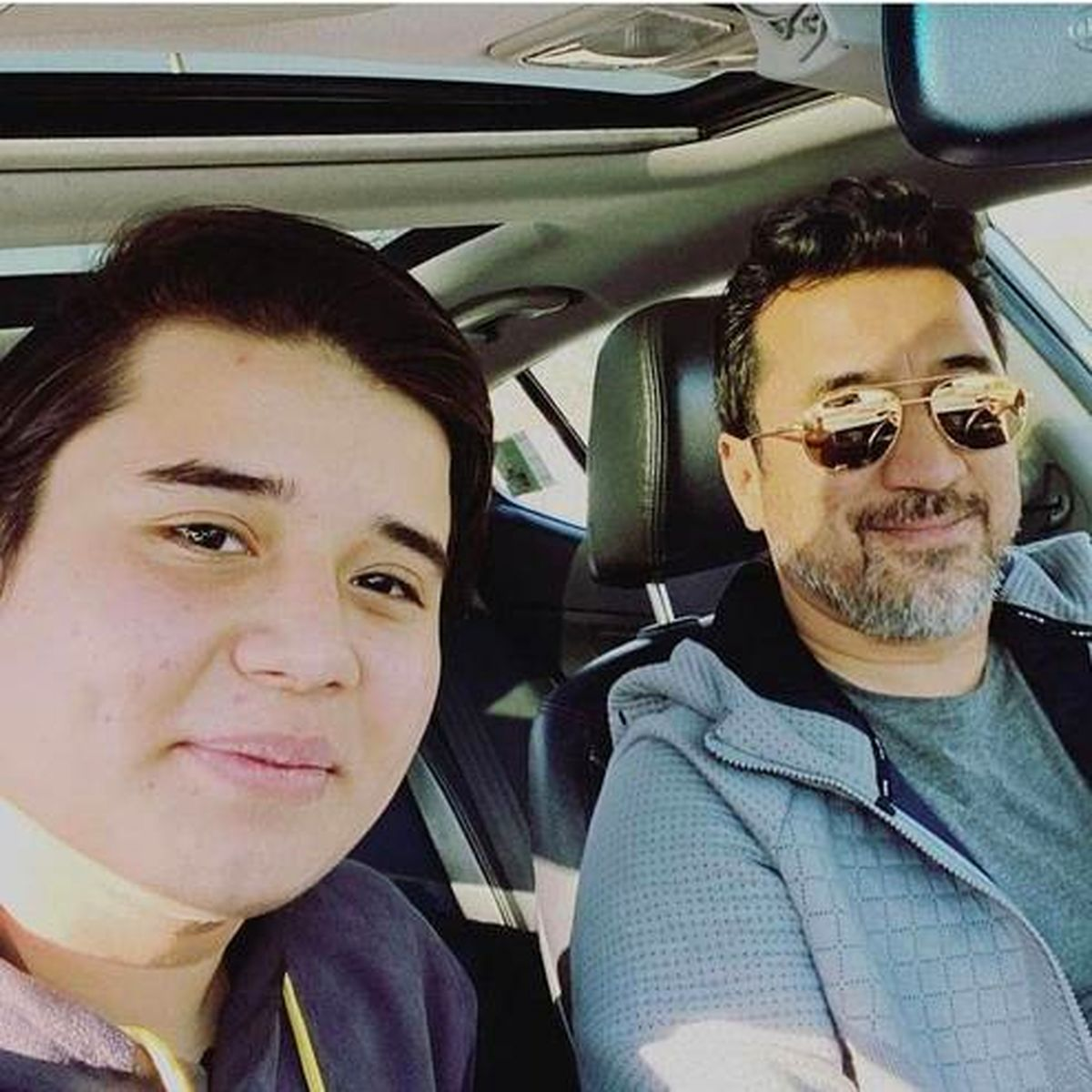 خودروی لاکچری خداداد عزیزی +عکس