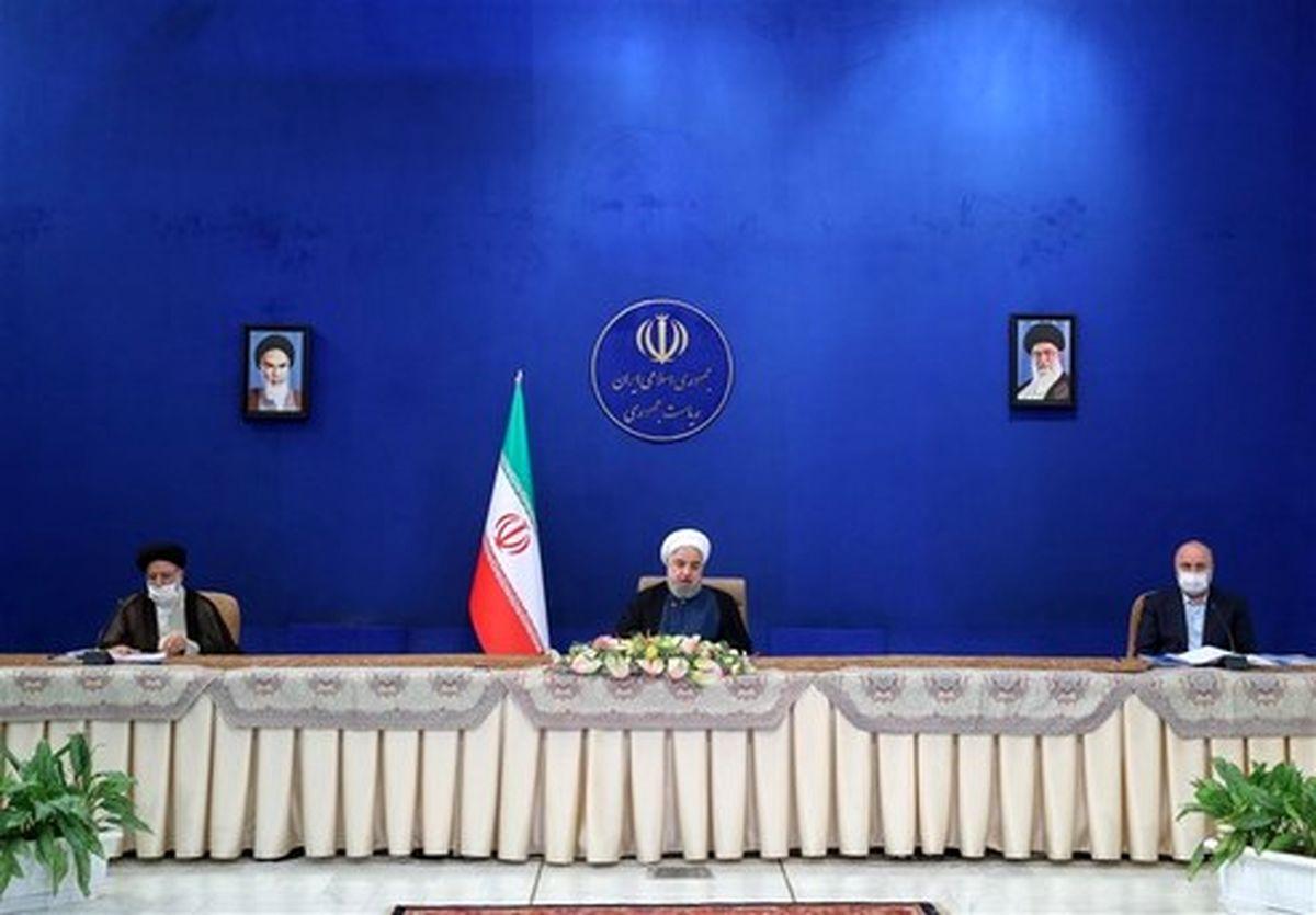 روحانی: دولت مصمم به رفع مشکلات مردم است