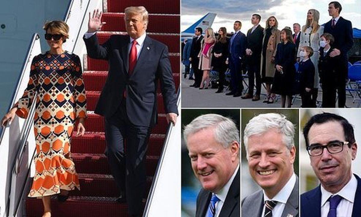 حفاظت رایگان ۶ ماهه از خانواده ترامپ