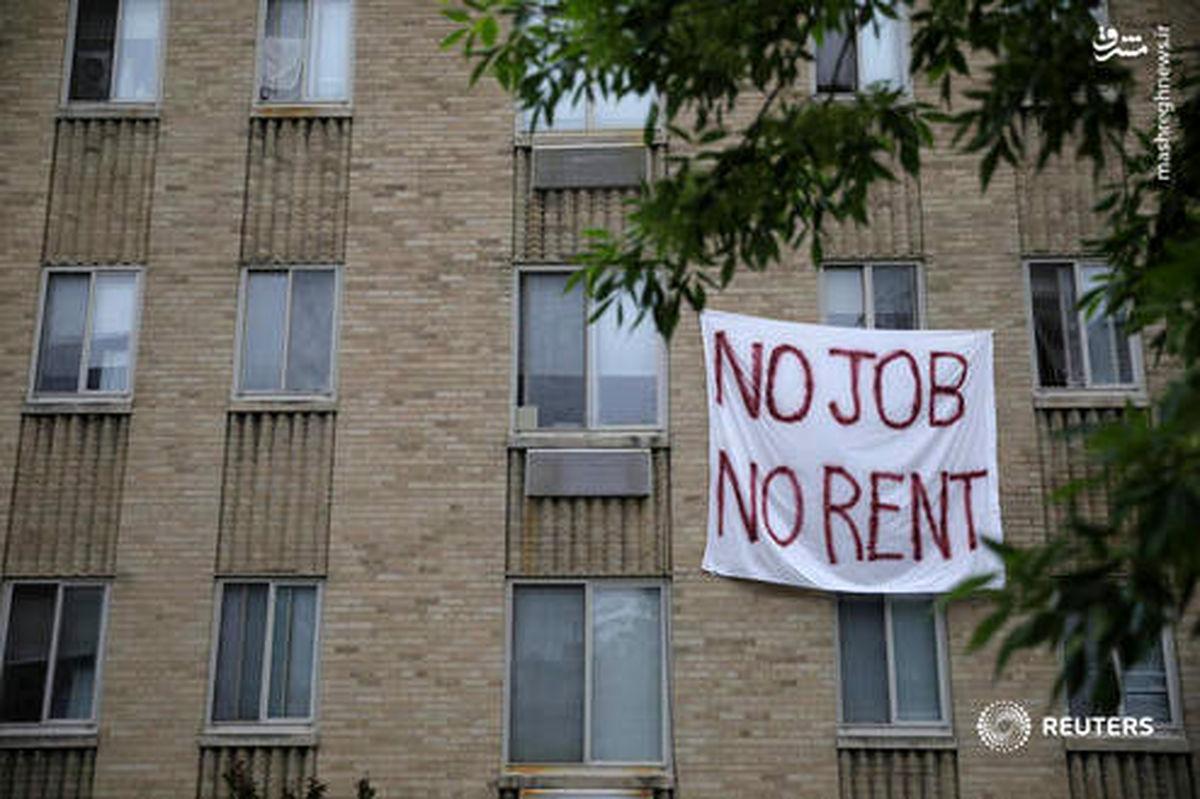 عکس: اقدام جالب یک مستاجرنشین در آمریکا