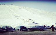 خودروهای خارجی در پیست اسکی آبعلی تهران سوژه شد! +عکس
