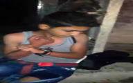 کودک انتحاری بسته در بغداد که در آخرین لحظات پشیمان شد