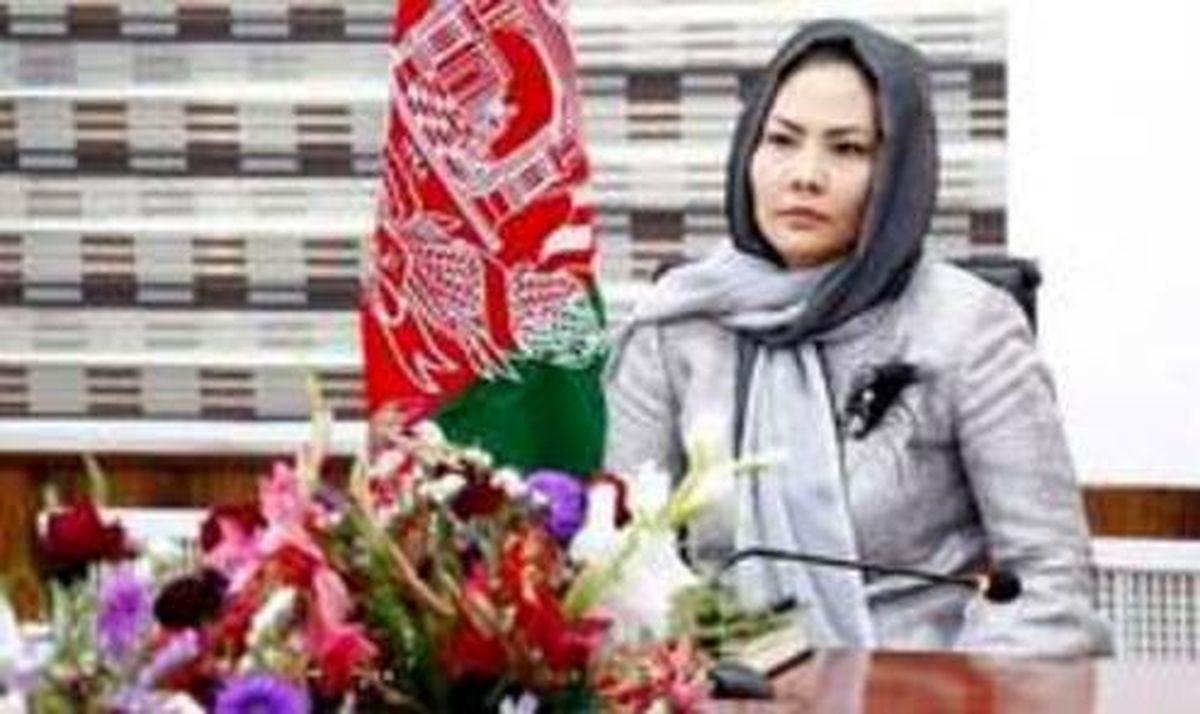 اولین وزیر زن افغان فارغالتحصیل دانشگاهی در ایران +عکس