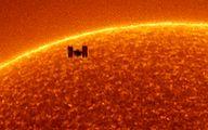 تصاویر عجیب یک فضانورد از خورشید را ببینید