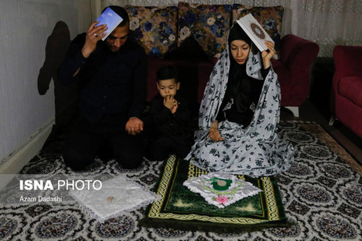 تصاویر: شب قدر در خانه