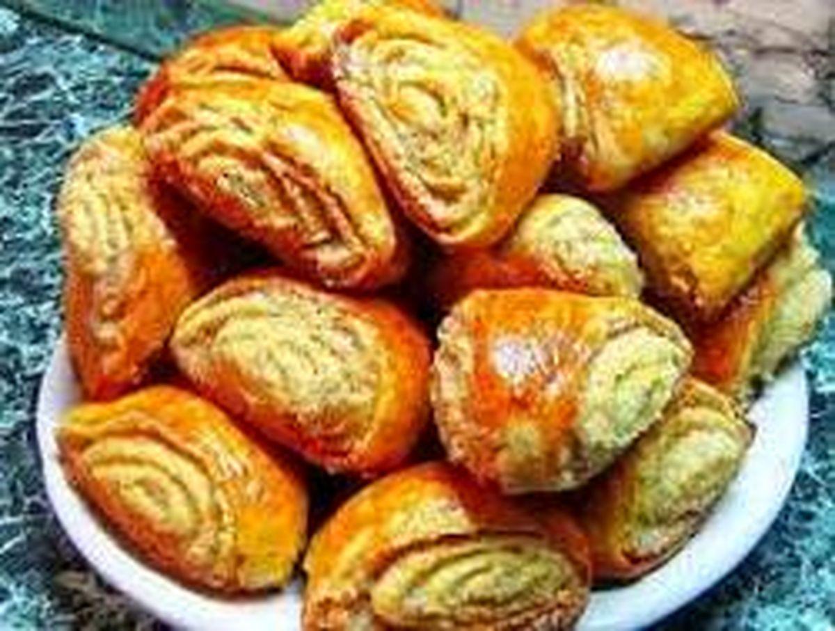 دستور پخت نان گاتا با آموزش ساده