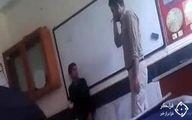 تنبیه بدنی دانش آموز با شلاق در ملارد +عکس