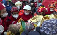 نجات دختر ۳ ساله از زیر آوار ۵۸ ساعت بعد زلزله ترکیه +عکس