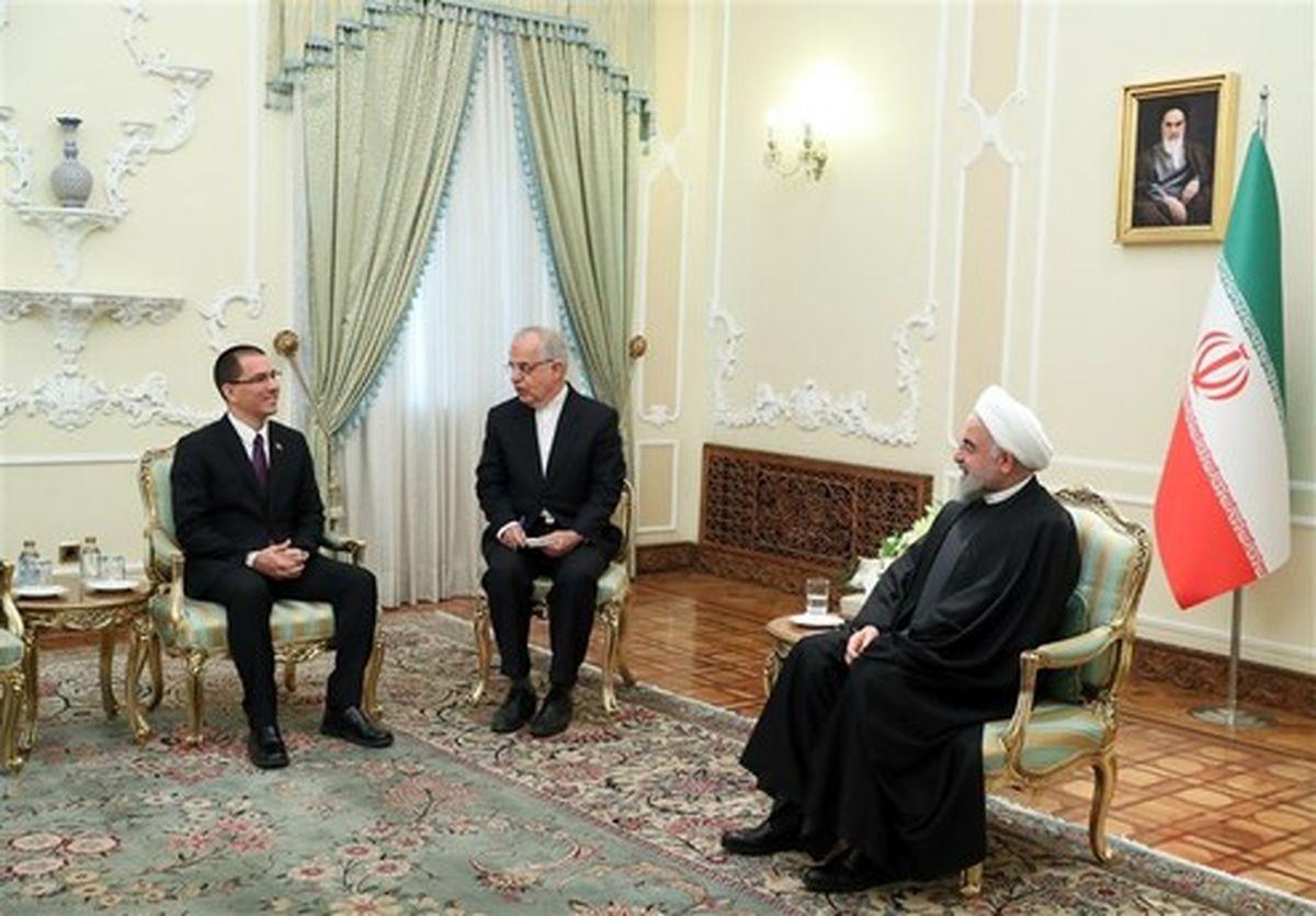 روحانی: دولت آمریکا مجری سیاستهای رژیم صهیونیستی شده است