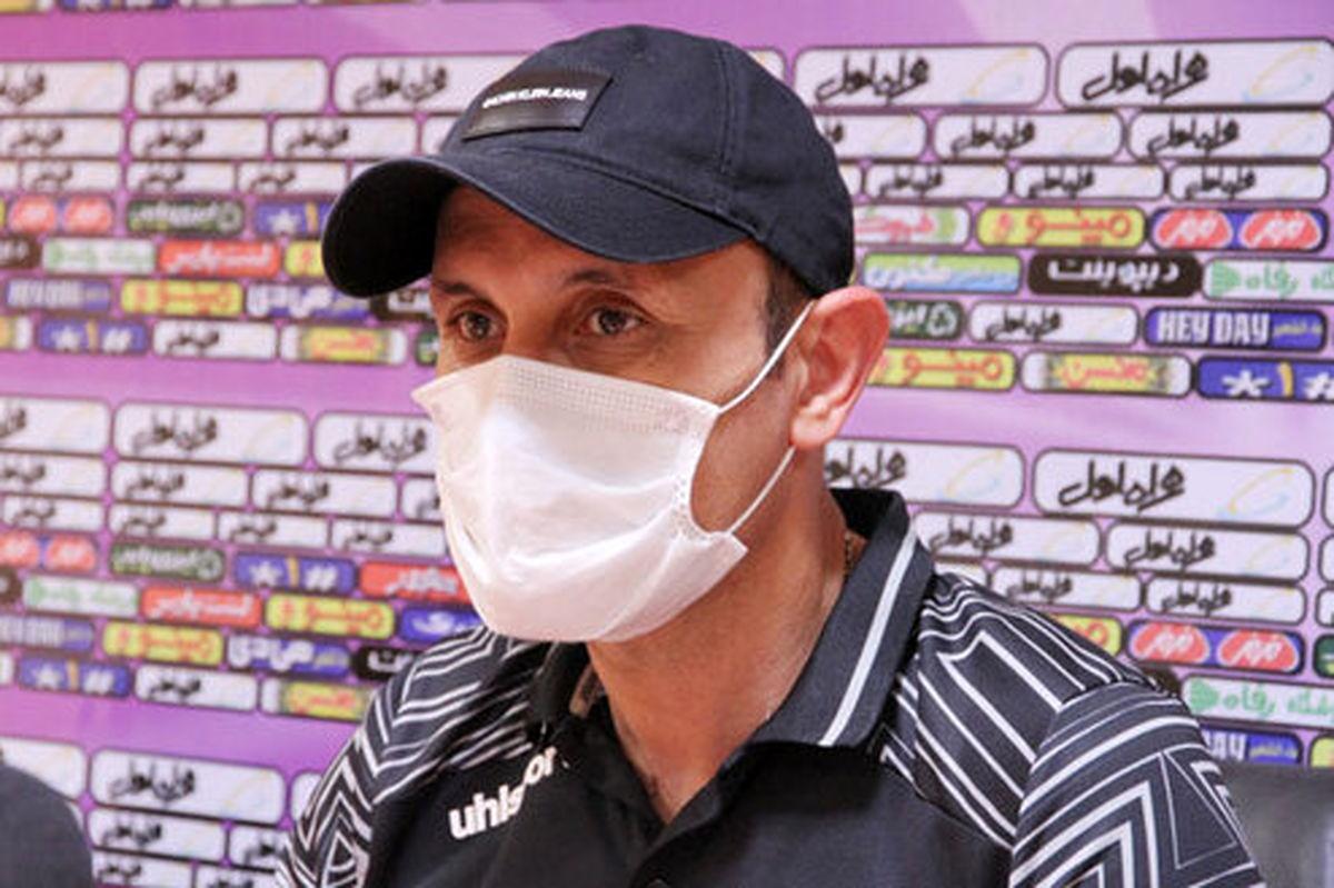 یحیی گل محمدی: مثل یک قهرمان بازی کردیم