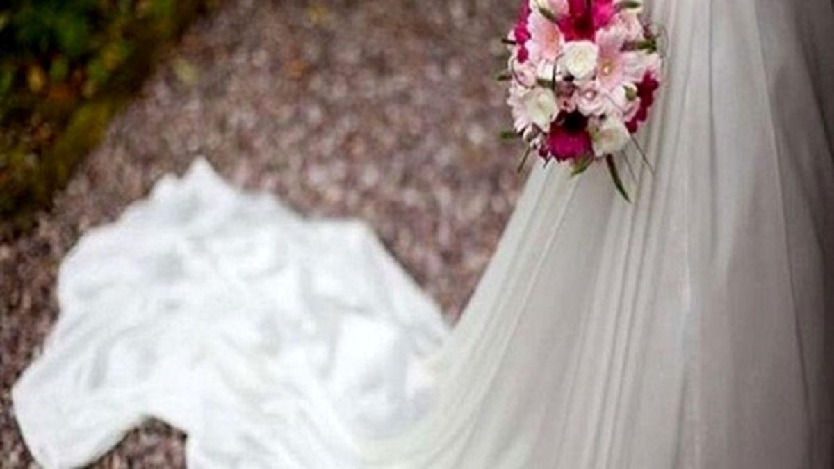 قدبلندترین عروس دنیا +عکس