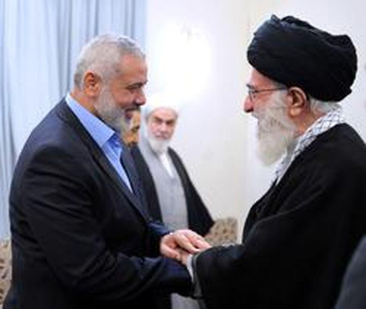 نامه «هنیه» به رهبر انقلاب: ملت فلسطین مواضع ارزشمند ایران در مسئله قدس رامیستاید