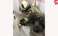مرگ تلخ مرد تهرانی در حمام مغازه اش +عکس