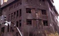 فیلم: گریههای مردی که اغتشاشگران جهیزیه دخترش را به آتش کشیدند
