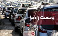 ممنوعیت تردد در محور هراز تا ساعت ۱۷