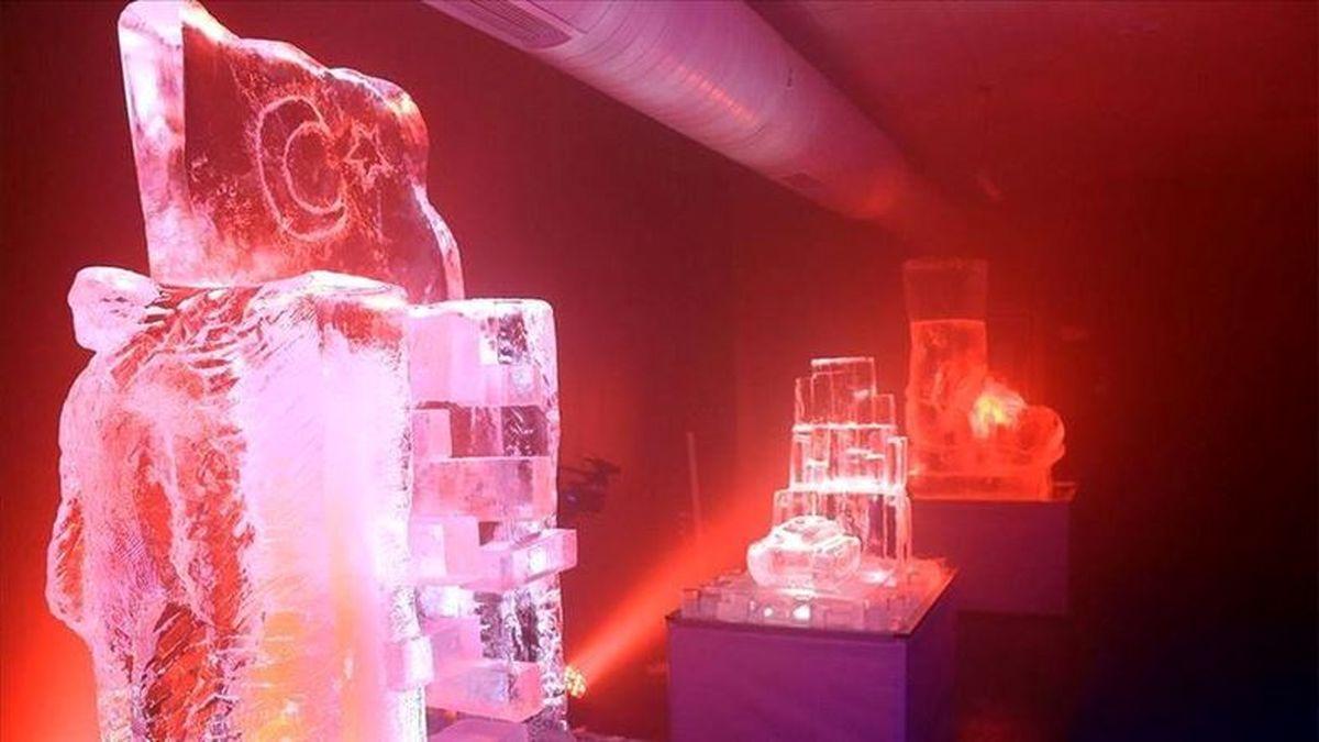 تصاویر: افتتاح اولین موزه یخی در ترکیه