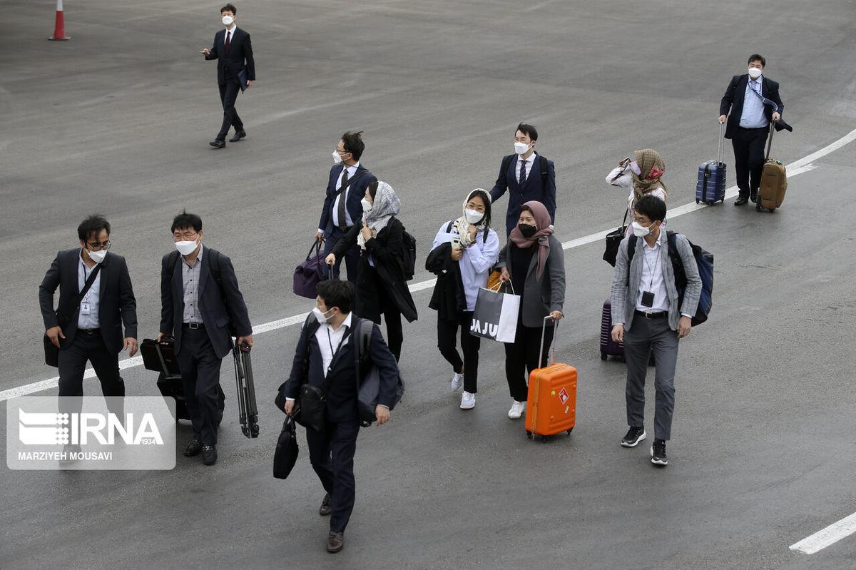صف دیپلمات های کره جنوبی در تهران خبرساز شد +عکس