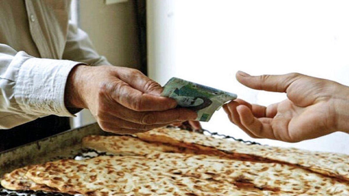 نان سنگک گران شد؟