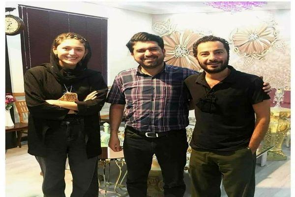 مراسم عقد لاکچری نوید محمدزاده و فرشته حسینی در روز عید غدیر +عکس