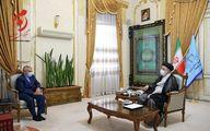 دیدار محمدباقر نوبخت با رئیس جمهور منتخب