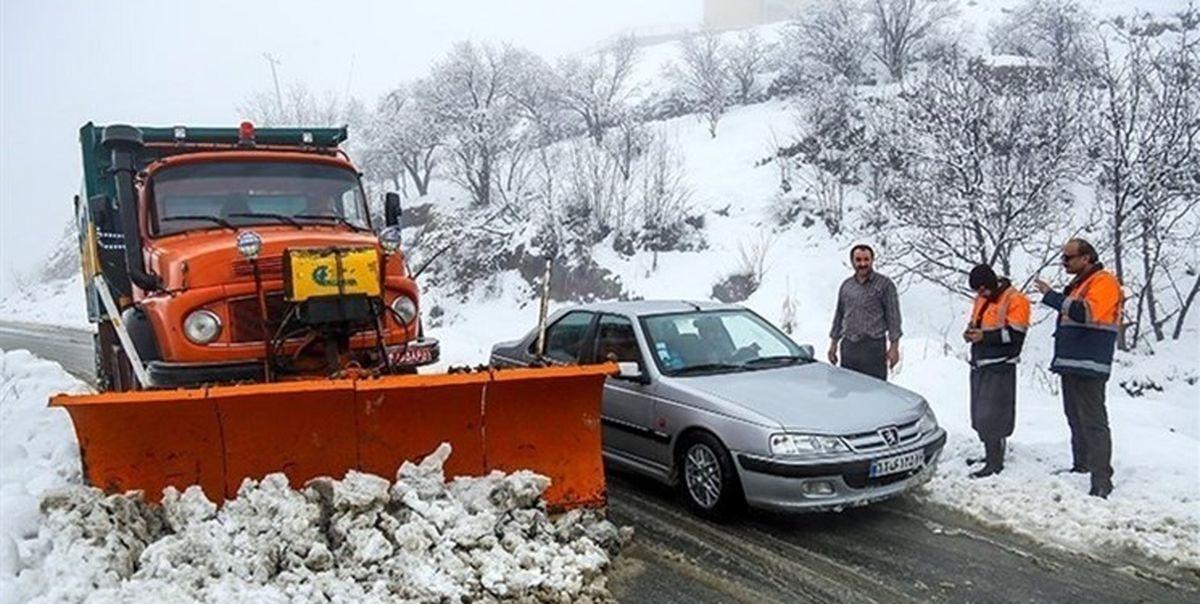 جادههای کدام استان ها برف و بارانی خواهد بود؟