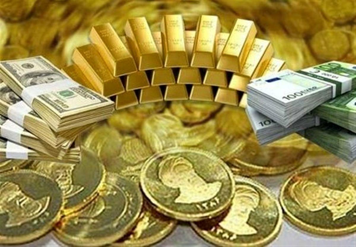 بازار طلا و ارز امروز ۹۹/۱۲/۱۰/ سکه ارزان شد