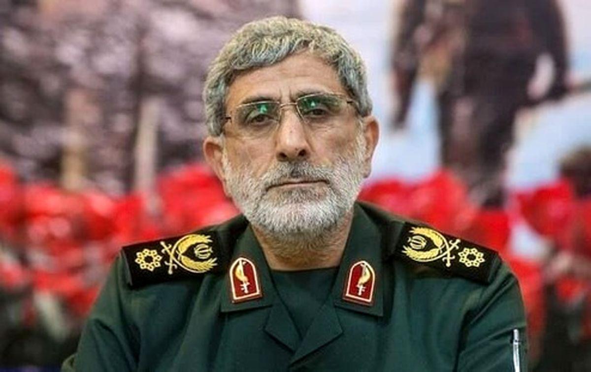 العالم: سردار «قاآنی» با مقامات عراقی دیدار کرد