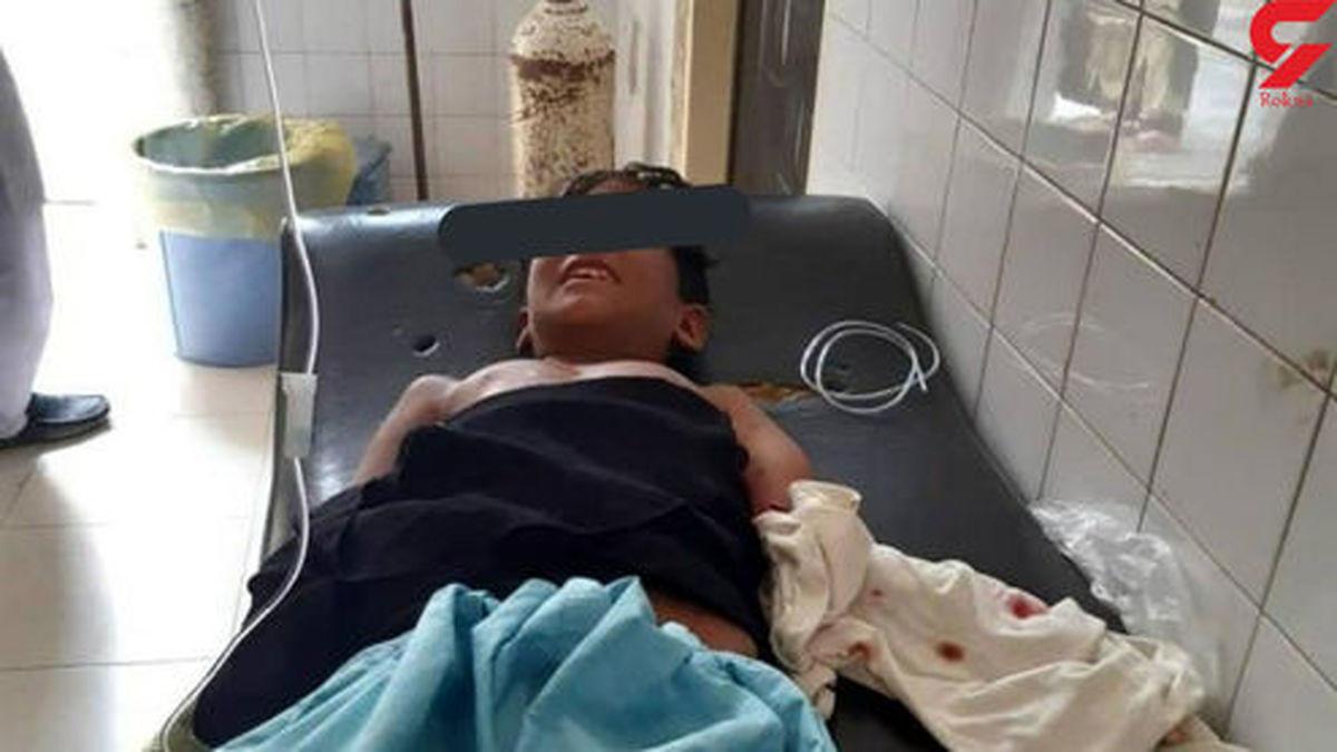 حمله تمساح به پسربچه ای در سیستان و بلوچستان +عکس