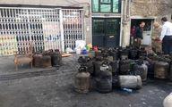 حریق در منزل مملو از سیلندرهای گاز /دقایقی قبل تهرانسر +تصاویر