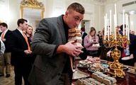 ترامپ: هزار همبرگر با پول خودم خریدم