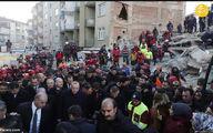 تصاویر: اردوغان زیر تابوت جانباختگان زلزله