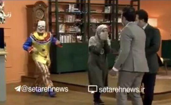 فیلم: جیغ و فرار مجری تلویزیون روی آنتن زنده!