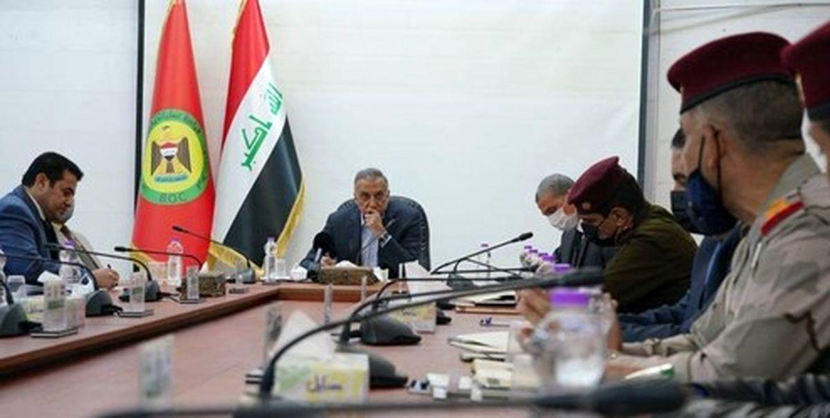 نشست محرمانه فرماندهان عراقی در پی انفجارهای بغداد