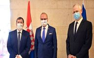 رایزنی ضد ایرانی وزیر جنگ صهیونیستها با وزیر خارجه کرواسی
