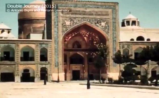فیلمی رنگی از حرم امام رضا در ۸۱ سال پیش