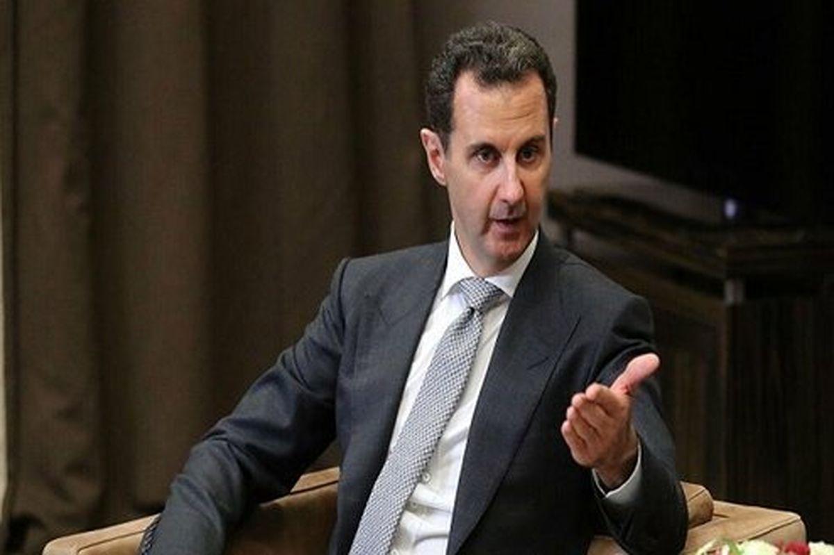بشار اسد: حضور نظامی روسیه در سوریه برای مبارزه با تروریسم است