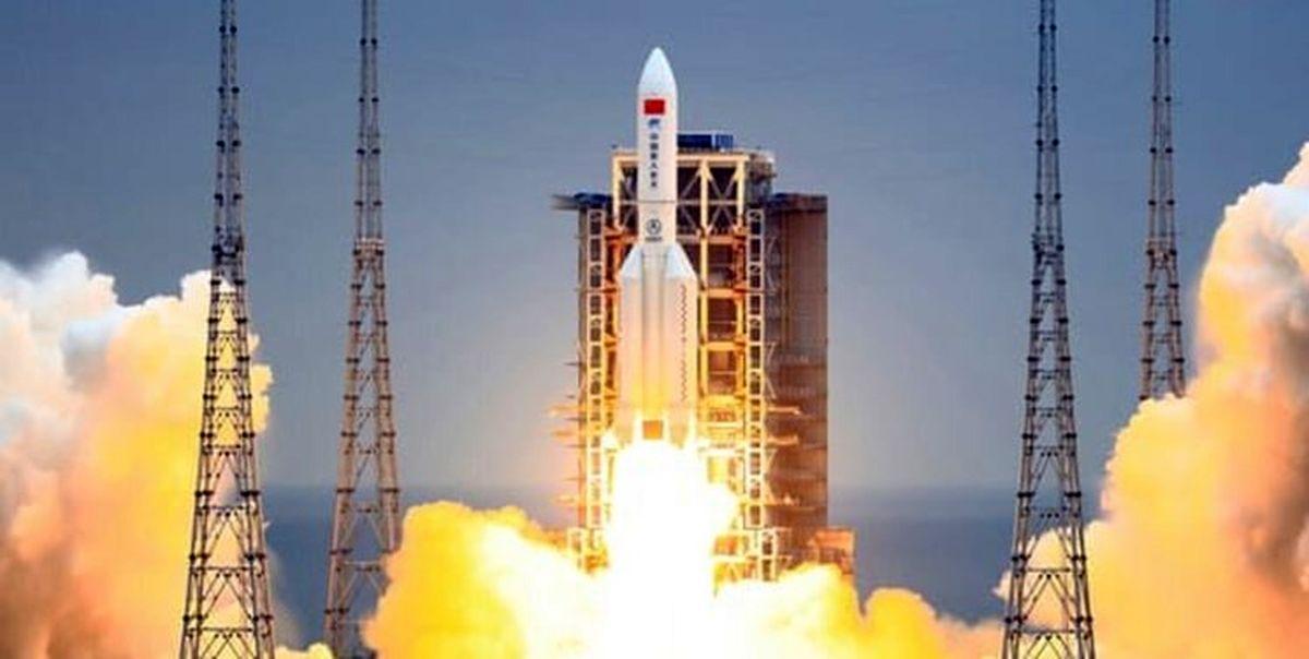 نخستین تصویر از موشک سرگردان چینی