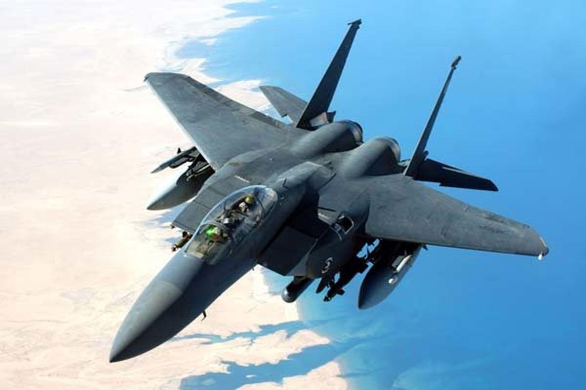سقوط جنگنده اف -۱۵ آمریکا