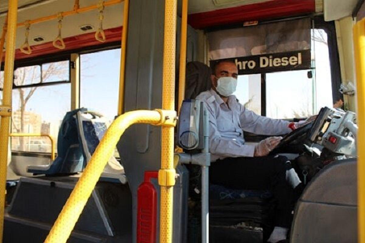 رانندگان اتوبوسهای تهران واکسینه می شوند