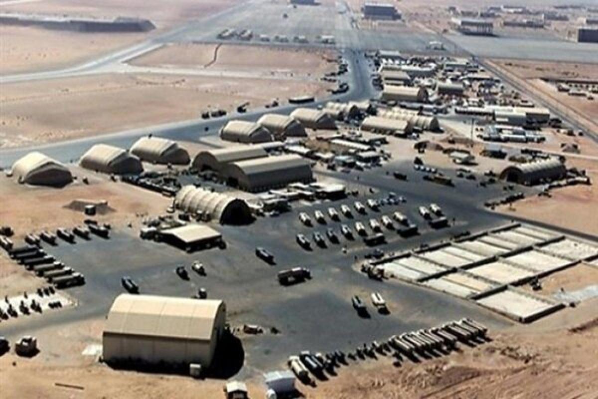 حملات راکتی به پایگاه هوایی البلد در شمال عراق