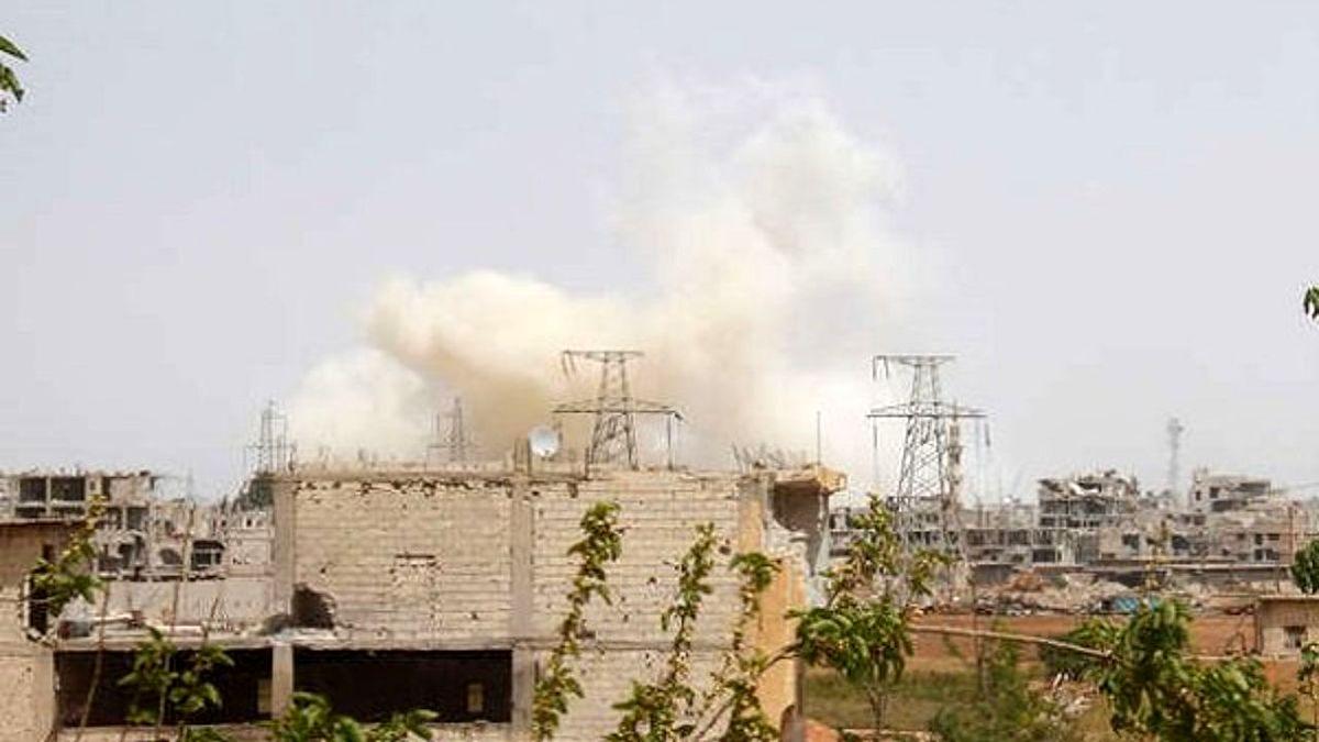 وقوع انفجار مهیب در الباب سوریه