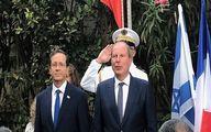 اظهارات ضد ایرانی سفیر فرانسه در سرزمینهای اشغالی