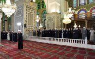 تصاویر: بشار اسد در نماز عید فطر