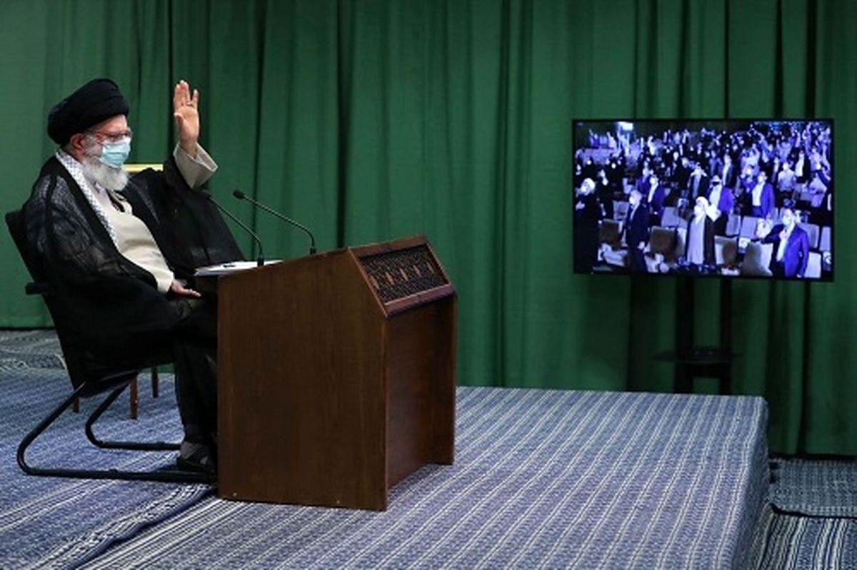 رهبر انقلاب: مشارکت بالا در انتخابات در درجه اول اهمیت است/صهیونیستها جز زبان زور چیزی نمیفهمند