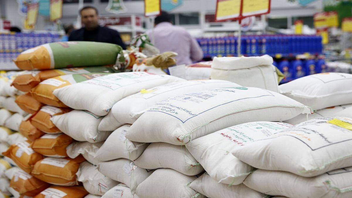 فروش برنج تایلندی تنظیم بازاری در کیسه برنج ایرانی!
