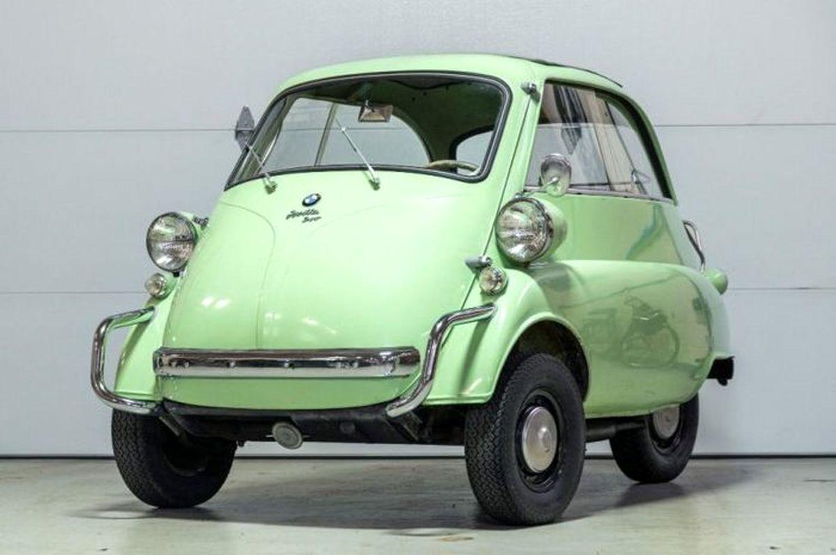 حراج عجیب ترین خودروی بامو + تصاویر