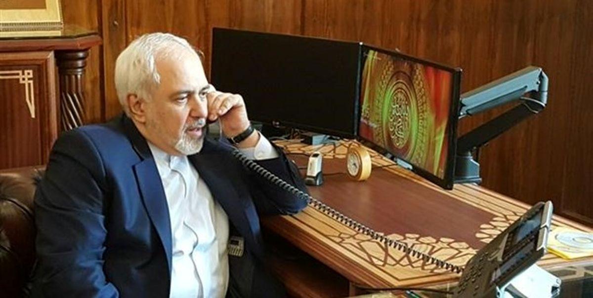 رایزنی تلفنی وزیر خارجه الجزایر با ظریف