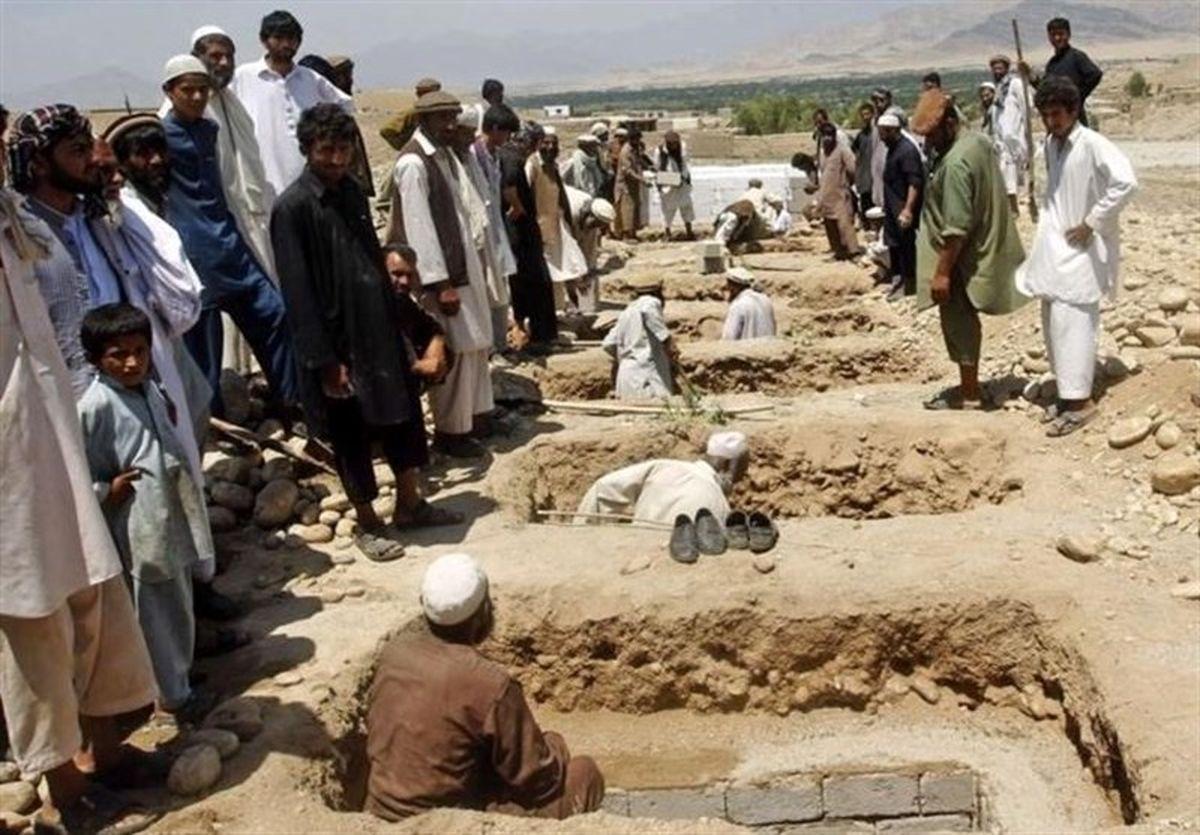 حمله آمریکا به افغانستان چند کشته داشت؟